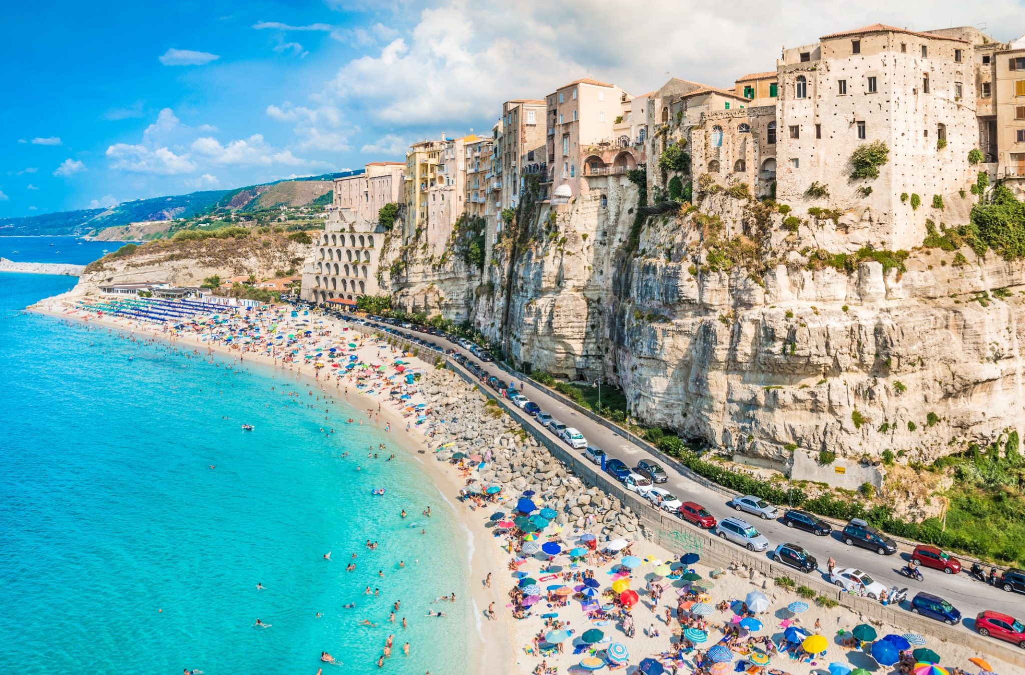 Tropea panoramic view, Calabria, Italy